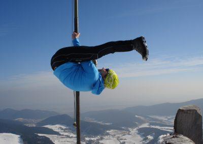 Alpine Poledance, Februar 2015 (Foto: Barbara Haid)