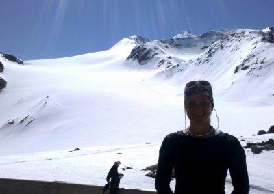 Blick von der Similaunhütte zum Similaun, Juni 2014